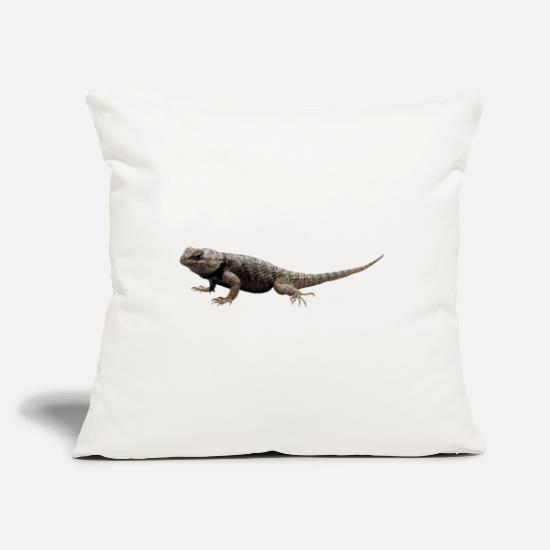 Claw Pillow Cases - Reptiles live in diverse habitats - Pillowcase 17,3'' x 17,3'' (45 x 45 cm) natural white