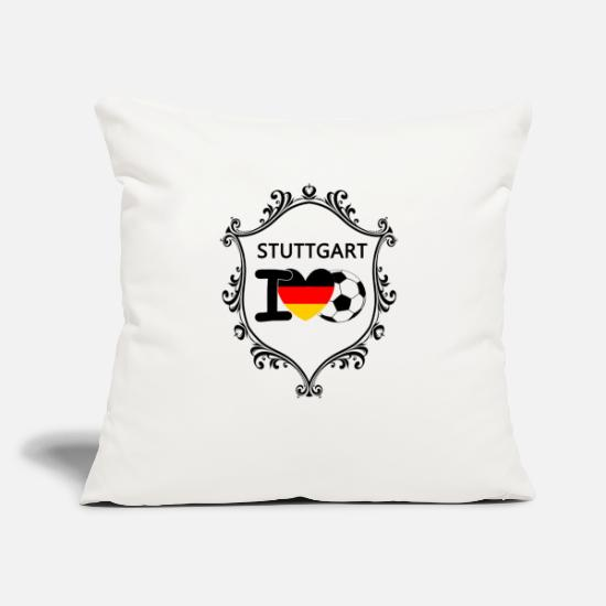 Gift Idea Pillow Cases - Stuttgart - Pillowcase 17,3'' x 17,3'' (45 x 45 cm) natural white