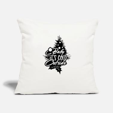 Berries Baby It's Cold Outside Christmas Tree - Pillowcase 17,3'' x 17,3'' (45 x 45 cm)