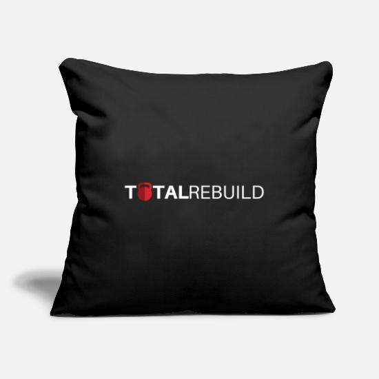 Weights Pillow Cases - TR Long White - Pillowcase 17,3'' x 17,3'' (45 x 45 cm) black