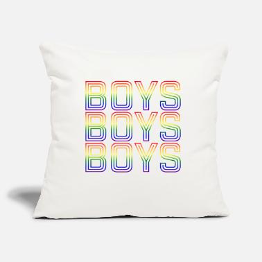Boy Boys boys boys - Pillowcase 17,3'' x 17,3'' (45 x 45 cm)