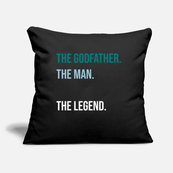 Godfather Pillow Cases - The Godfather - Pillowcase 17,3'' x 17,3'' (45 x 45 cm) black