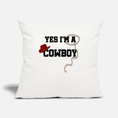 Cowboy cowboy - Pillowcase 17,3'' x 17,3'' (45 x 45 cm)