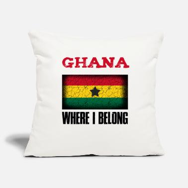 Kumasi Ghana Where I Belong | Accra Kumasi gift idea - Pillowcase 17,3'' x 17,3'' (45 x 45 cm)