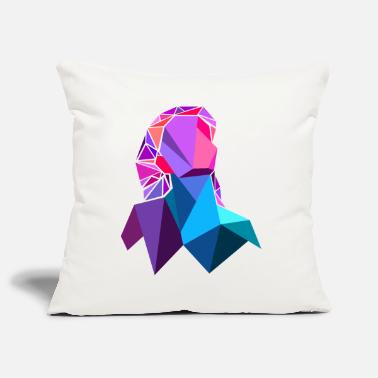 Polygon polygon - Pillowcase 17,3'' x 17,3'' (45 x 45 cm)