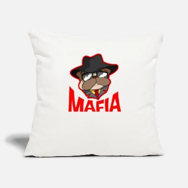 Gangster Mafia gangster pug with cigar gift - Pillowcase 17,3'' x 17,3'' (45 x 45 cm)