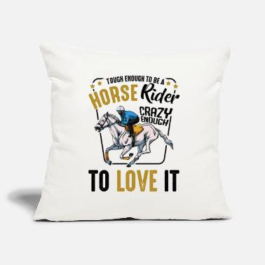 Horseman Cool Horses Riding Funny Sayings Rider Gift - Pillowcase 17,3'' x 17,3'' (45 x 45 cm)