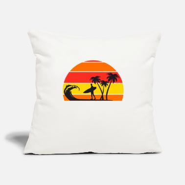 B Day Surfing Surfers Surfing Surfboard Wave Funny - Pillowcase 17,3'' x 17,3'' (45 x 45 cm)