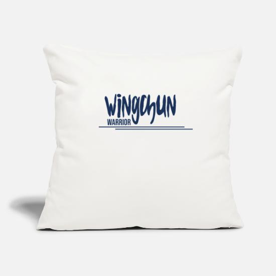 Martial Arts Pillow Cases - Martial Arts Wing Chun WingTsun WingChun Martial Arts - Pillowcase 17,3'' x 17,3'' (45 x 45 cm) natural white