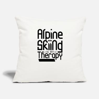 Winter Alpine skiing - Pillowcase 17,3'' x 17,3'' (45 x 45 cm)