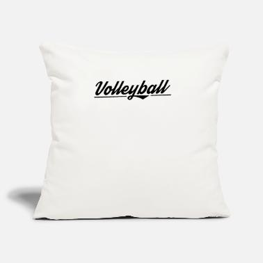Volleyball team Vollyball player volleyball - Pillowcase 17,3'' x 17,3'' (45 x 45 cm)