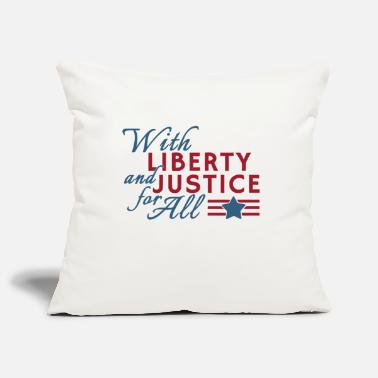 York With liberty and justice for all - Kissenhülle