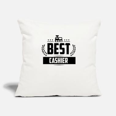 Checkout Cashier Cashier Checkout Receipt - Pillowcase 17,3'' x 17,3'' (45 x 45 cm)