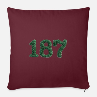 Kick Weed 187 - Pillowcase 17,3'' x 17,3'' (45 x 45 cm)