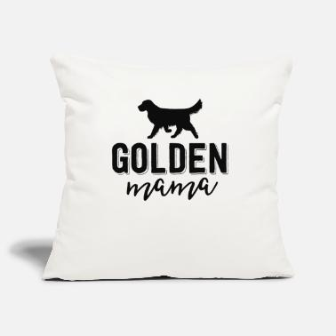 Dog Floral Dog Mom Shirts For Women Gift Golden - Pillowcase 17,3'' x 17,3'' (45 x 45 cm)