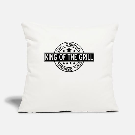 Grill Kuddfodral - king of the grill - Kuddfodral naturvit
