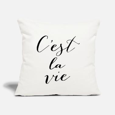Monday C'est la vie - Pillowcase 17,3'' x 17,3'' (45 x 45 cm)