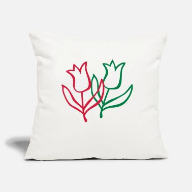 Tulip tulip - Pillowcase 17,3'' x 17,3'' (45 x 45 cm)