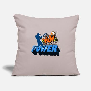 baseball - Pillowcase 17,3'' x 17,3'' (45 x 45 cm)