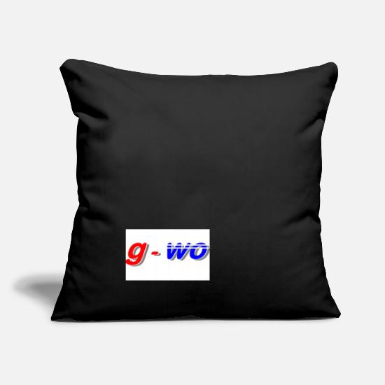 Mousepad Pillow Cases - where-where - Pillowcase 17,3'' x 17,3'' (45 x 45 cm) black