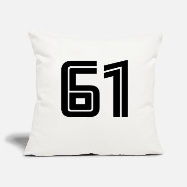 61 61 - Pillowcase 17,3'' x 17,3'' (45 x 45 cm)