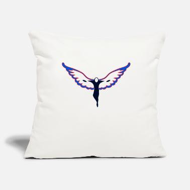 Ángel angel - Pillowcase 17,3'' x 17,3'' (45 x 45 cm)