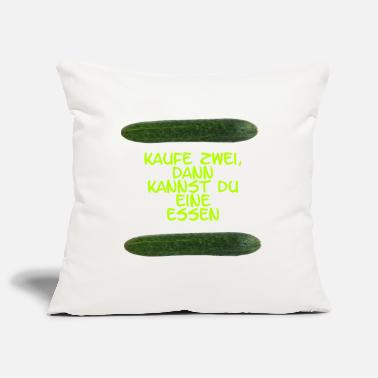 Cucumber cucumber - Pillowcase 17,3'' x 17,3'' (45 x 45 cm)