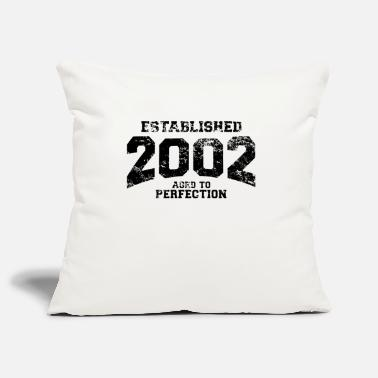 Established established 2002(fi) - Tyynynpäällinen