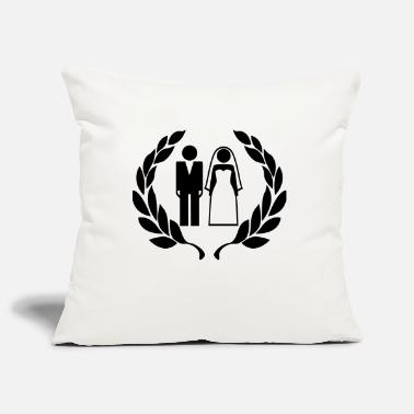 Wedding Couple Hochzeitspaar - Wedding Couple - Pillowcase 17,3'' x 17,3'' (45 x 45 cm)