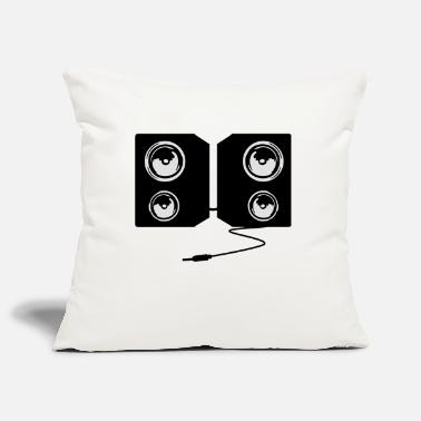 Stereo stereo music - Pillowcase 17,3'' x 17,3'' (45 x 45 cm)