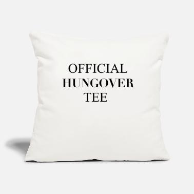 Hungover Official Hungover Tee - Pillowcase 17,3'' x 17,3'' (45 x 45 cm)