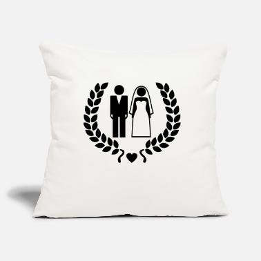 Wedding Couple Wedding couple - Hochzeitspaar - Pillowcase 17,3'' x 17,3'' (45 x 45 cm)