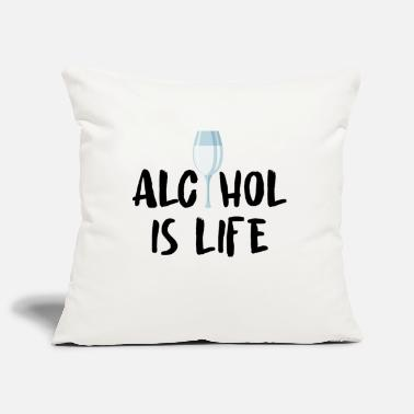 Alcohol Alcohol alcohol - Pillowcase 17,3'' x 17,3'' (45 x 45 cm)
