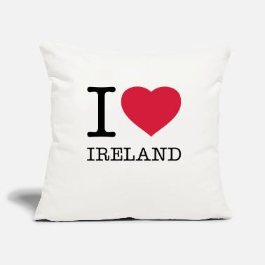 Ireland I LOVE IRELAND - Pillowcase 17,3'' x 17,3'' (45 x 45 cm)