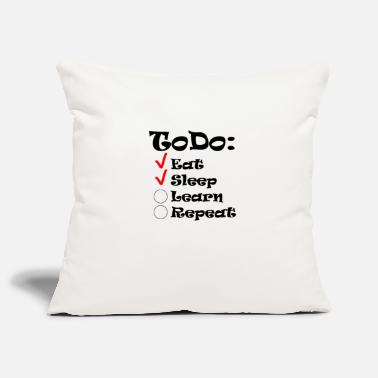 Todo List ToDo list of students - Pillowcase 17,3'' x 17,3'' (45 x 45 cm)