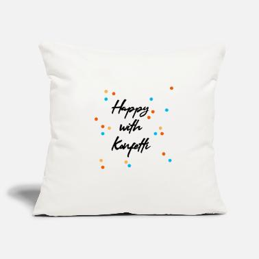 Party Happy with confetti Happy party carnival - Pillowcase 17,3'' x 17,3'' (45 x 45 cm)