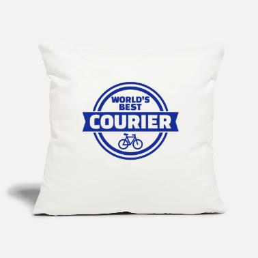 Courier World's best bike courier - Pillowcase 17,3'' x 17,3'' (45 x 45 cm)