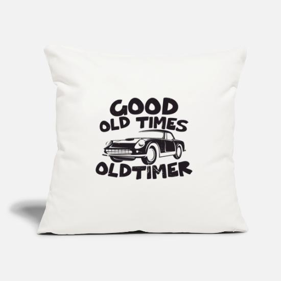 Cool Quote Pillow Cases - Antique car - Pillowcase 17,3'' x 17,3'' (45 x 45 cm) natural white