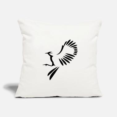 Bird Illustration Bird illustration - Pillowcase 17,3'' x 17,3'' (45 x 45 cm)