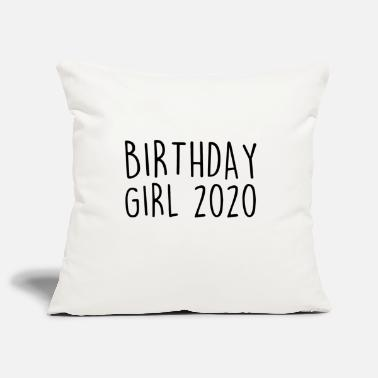BIRTHDAY GIRL 2020 BIRTH PARTY BIRTHDAY CUTE - Pillowcase 17,3'' x 17,3'' (45 x 45 cm)