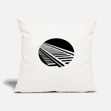 Tracks Track railroad track traffic - Pillowcase 17,3'' x 17,3'' (45 x 45 cm)