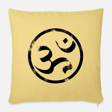 Sanskrit Om Sanskrit - Pillowcase 17,3'' x 17,3'' (45 x 45 cm)