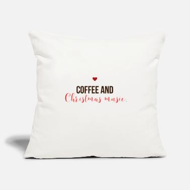 Christmas Carols Coffee and Christmas carols Christmas - Pillowcase 17,3'' x 17,3'' (45 x 45 cm)