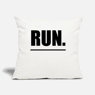 Running Run running sports - Pillowcase 17,3'' x 17,3'' (45 x 45 cm)