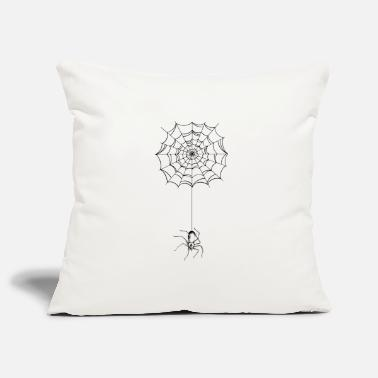 Spider Spider - spider web - spider - Pillowcase 17,3'' x 17,3'' (45 x 45 cm)