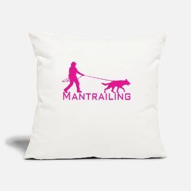 Man Trailer Mantrailing pink - Pillowcase 17,3'' x 17,3'' (45 x 45 cm)