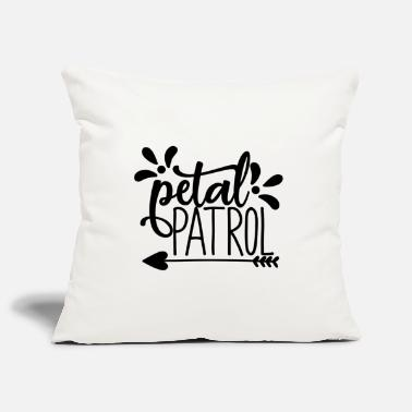 Engagement petal patroll - wedding design - Pillowcase 17,3'' x 17,3'' (45 x 45 cm)