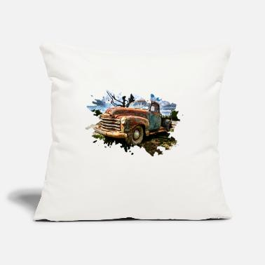 Pickup Line Old Pickup Truck - Pillowcase 17,3'' x 17,3'' (45 x 45 cm)