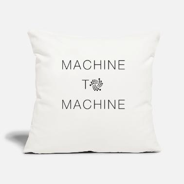 Machine IOTA Machine to Machine - Pillowcase 17,3'' x 17,3'' (45 x 45 cm)