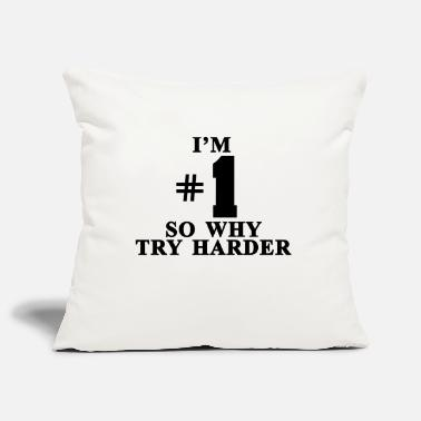 Fatboy Slim I'm #1 So why try harder - Housse de coussin